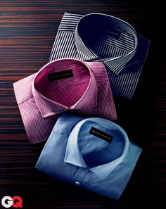 The Perfect Dress Shirt November 2011 Ready to take the guesswork out of your mornings? Start with Black Label dress shirts by Ralph Lauren. While all the other office drones are in boring blues and stark whites, these shirts will show you're a man apart, thanks to a range of striking solids (like icy French blue) and patterns (lavender stripes). The smaller-than-normal collar won't swallow your slender ties, and even when you ditch the jacket, the silhouette will keep you looking lean and…