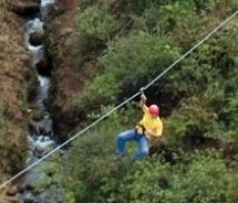 Zip-lining in Hawaii!