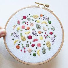 """3,470 Likes, 25 Comments - E M B R O I D E R Y (@embroidery) on Instagram: """"@cathyeliot • #handembroidery #modernembroidery #embroideryartist #handembroidery #embroidery…"""""""