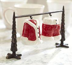 Christmas Styles | Pottery Barn Love these Salt & Pepper shakers!
