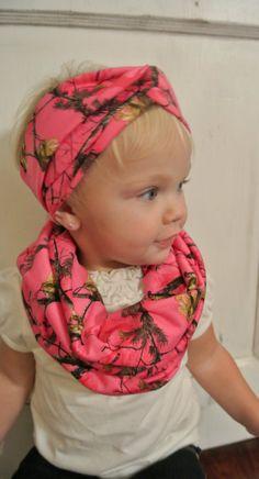 Realtree Pink Camo Turban Headband by TheCountryTrunk on Etsy