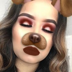 Burgandy eyeshadow  makeup look i used the modern renaissance palette from Anastasia Beverly Hills