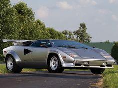 European Cars…   1982 Lamborghini Countach LP5000 S