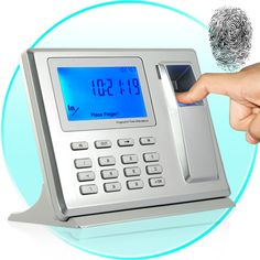 Fingerprint attendance system with access control.. http://www.totalitech.com/