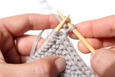 How to Knit a Perfect Edge -- I imagine tons of practice would also be included in these instructions