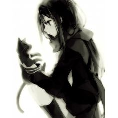 Tateyama Ayano ❤ liked on Polyvore featuring anime, girls and effect