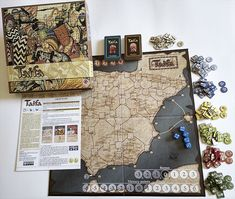 Taifa: Intrigue and War in Medieval Spain Mockup, Medieval, Spain, War, Sevilla Spain, Mid Century, Miniatures, Middle Ages, Model