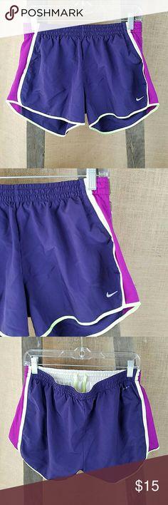 NIKE DRI-FIT women's tempo athletic shorts pants L NIKE DRI-FIT women's tempo athletic shorts pants L/Large purple. Nike Shorts