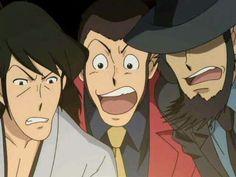 Goemon, Lupin and Jigen