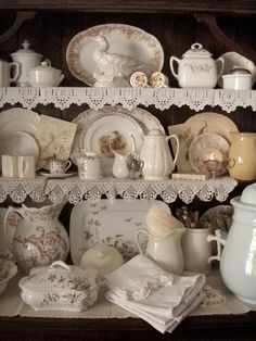 . . . Cabin & Cottage: The Olde English Cupboard