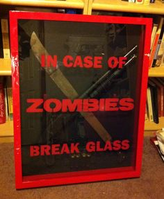 Zombie Preparedness Kit by taatofu2 on Etsy, $250.00