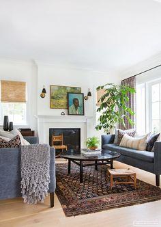 Inspiration deco: ethnic carpets    Amber Interior Design - Rad trad project
