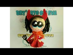 💟 Dianita la Diablita 💟 - YouTube Videos, Mickey Mouse, Disney Characters, Fictional Characters, Halloween, Youtube, Art, Pens, Jelly Beans