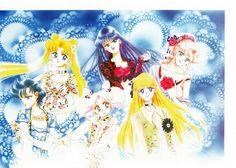 Naoko Takeuchi, Toei Animation, Bishoujo Senshi Sailor Moon, Rei Hino, Minako Aino