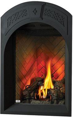 Fireplace Vent, Corner Gas Fireplace, Fireplace Facing, Black Fireplace, Fireplace Inserts, Fireplace Surrounds, Fireplaces, Fireplace Ideas, Indoor Electric Fireplace