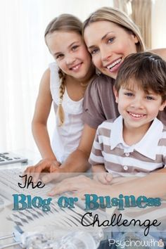 The blog or business challenge: if you homeschool and blog or own a business, too, this week's challenge is for you! In just a few simple steps, you'll find you have more time for what matters most.