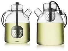 Modern Glass Tea Kettle with Filter