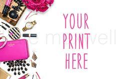 @newkoko2020 #546 KATE MAXWELL Styled Mockup by KateMaxStock on @creativemarket #feminine