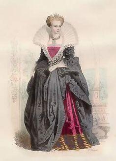 Marguerite De France, 1ère Femme De Henri IV, D´Après Thomas De Leu, 1572