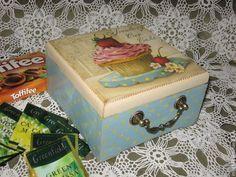 Картинки по запросу декор коробок и ящиков в стиле прованс