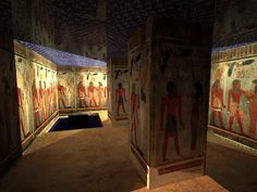 Sketch Reconstruction Architecture: Amenophis III