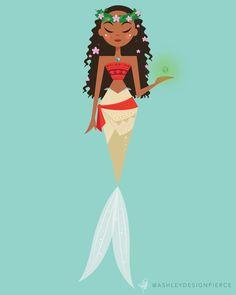 Moana mermaid