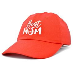 db48193f31122 Best Mom Baseball Cap Womens Dad Hats Adjustable Mothers Day Hat