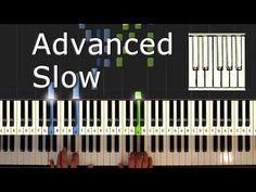 Beethoven - Moonlight Sonata  - Piano Tutorial Easy SLOW - How To Play (synthesia) - YouTube