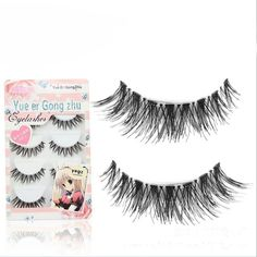 5 Pair Soft Makeup Natural False Eyelashes Thick Long Eye Lashes Volume Lashes 3D Fake Eyelashes Extensions For Professionals
