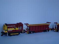 EWS 08 Shunter and EWS Ballast Wagon (Seacow) | Flickr - Photo Sharing!