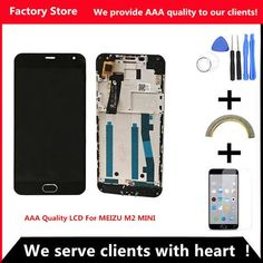 [EBay] Qyqyjoy Aaa Quality Lcd  Frame For Meizu M2 Mini Lcd Display Screen Replacement For Meizu M2 Mini Digiziter Aseembly