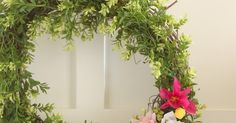 I love boxwood wreaths. There is something so classic about them and they instantly freshen up a space. I've been on the hunt for one f. Boxwood Wreath Diy, Diy Wreath, Door Wreaths, Grapevine Wreath, Winter Art, Art Lessons, Grape Vines, Deck, Windows
