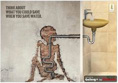 conserve water for others