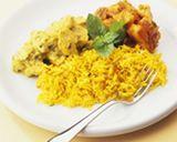 Farofa de couve-flor light ao curry