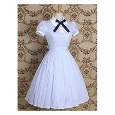 Cotton School Lolita dress lace bow short sleeve