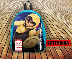 Gogo Tomago Big Hero Design for School Bag Backpack for Children Small size Middle size Large size