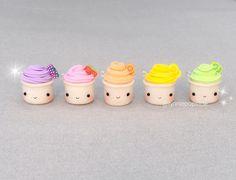 #kawaii #charms #polymer #clay #ice #cream #icecream #pots