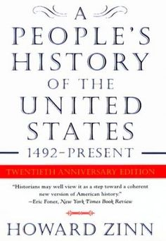 A People's History of the United States by Howard Zinn.its a bit dry for not EVER liking my history class, but it's worth reading. Best History Books, Us History, American History, History Class, The Americans, Native Americans, African Americans, Alone, Reading Lists