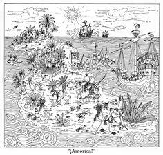 """Oski, Historia de las Indias, """"El descubrimiento de América"""""""