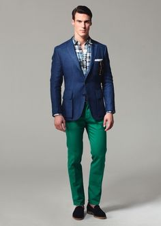 Ovadia and Sons Spring 2013 - Tony needs some green pants!