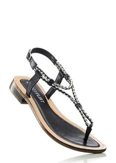Sandale piele Un model șic și o talpă • 109.9 lei • bonprix