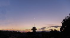 Words are not needed to describe the beauty of the atmosphere I was kept in in that moment. The Yasaka Pagoda of the Yasaka shrine in Kyoto at sunset is one of the most beautiful things I have ever seen - Japan