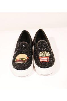 CHIARA FERRAGNI Slip on Burger eFries