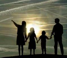 """Papá, ¿Y esas nubes raras?"""" """"Eso es normal hijo. ¿¿¿???????"""