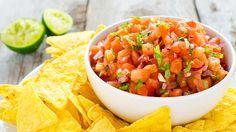 Tomatsalsa med chili och koriander