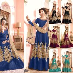 Drashti Dhami New Designer Anarkali Suit Product Info : Top : Banglori silk Choli : Banglori silk Duppata : mono net with lace Price : 1850 INR Only ! #Booknow CASH ON DELIVERY Available In India ! World Wide Shipping ! For orders / enquiry WhatsApp @ 91-9054562754 Or Inbox Us Worldwide Shipping ! #SHOPNOW #indianwear #ethnicwear #bollywood #dress #outfit #salwarkameez #saree #lehengacholi #style #fashion #love #look #bridal #weddinginspiration #usa #uk #canada