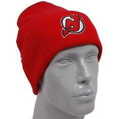 Reebok New Jersey Devils Red Watch Knit Beanie by Reebok. Save 1 Off!. $9.95. Reebok New Jersey Devils Red Watch Knit BeanieImportedRib-knit beanie with cuff100% AcrylicOfficially licensed NHL productOne size fits mostQuality embroidery100% AcrylicRib-knit beanie with cuffOne size fits mostQuality embroideryImportedOfficially licensed NHL product