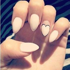 stiletto acrylic nails tumblr