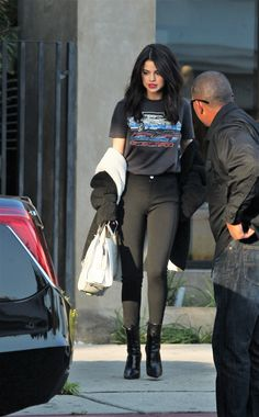 December 5: Selena leaving Nine Zero One Salon in West Hollywood, California [HQs]