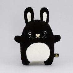 Noodoll - Plush toy Riceberry black DELUX